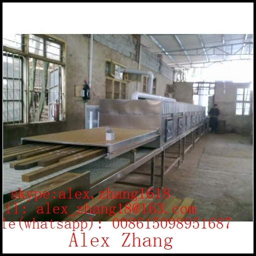 Continuous Microwave Pencil Board Dryer Industrial